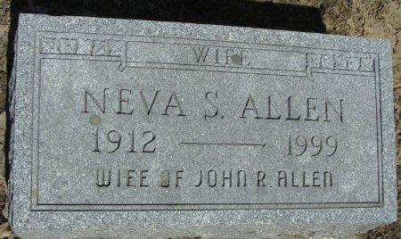 ALLEN, NEVA S. - Mifflin County, Pennsylvania   NEVA S. ALLEN - Pennsylvania Gravestone Photos