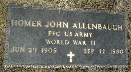 ALLENBAUGH, HOMER JOHN - Mifflin County, Pennsylvania | HOMER JOHN ALLENBAUGH - Pennsylvania Gravestone Photos