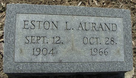 AURAND, ESTON L. - Mifflin County, Pennsylvania   ESTON L. AURAND - Pennsylvania Gravestone Photos