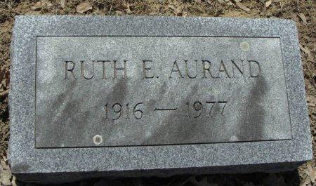 AURAND, RUTH E. - Mifflin County, Pennsylvania | RUTH E. AURAND - Pennsylvania Gravestone Photos