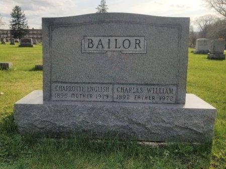 BAILOR, CHARLES WILLIAM - Mifflin County, Pennsylvania | CHARLES WILLIAM BAILOR - Pennsylvania Gravestone Photos