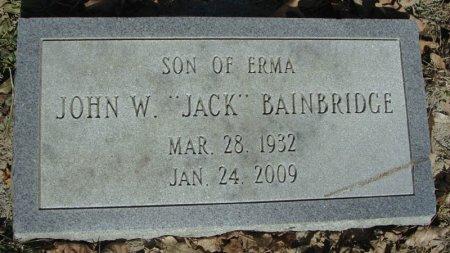 "BAINBRIDGE, JOHN W. ""JACK"" - Mifflin County, Pennsylvania | JOHN W. ""JACK"" BAINBRIDGE - Pennsylvania Gravestone Photos"