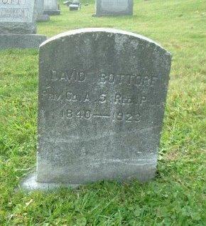 BOTTORF AKA BLOOM (CW), DAVID - Mifflin County, Pennsylvania | DAVID BOTTORF AKA BLOOM (CW) - Pennsylvania Gravestone Photos