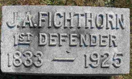 FICHTHORN (CW), JOSEPH A. - Mifflin County, Pennsylvania   JOSEPH A. FICHTHORN (CW) - Pennsylvania Gravestone Photos