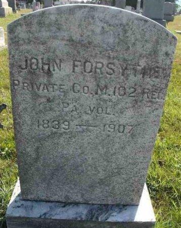 FORSYTHE (CW), JOHN - Mifflin County, Pennsylvania | JOHN FORSYTHE (CW) - Pennsylvania Gravestone Photos