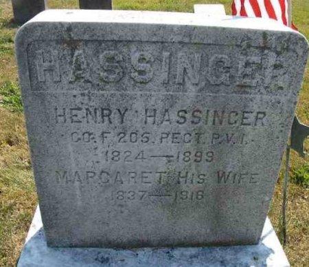 HASSINGER (CW), HENRY - Mifflin County, Pennsylvania | HENRY HASSINGER (CW) - Pennsylvania Gravestone Photos