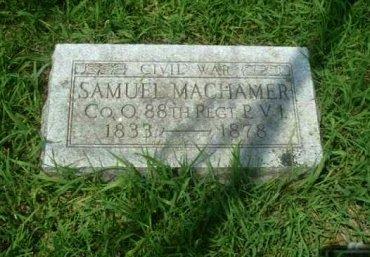 MACHAMER (CW), SAMUEL - Mifflin County, Pennsylvania   SAMUEL MACHAMER (CW) - Pennsylvania Gravestone Photos