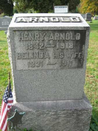 ARNOLD  (CW), HENRY - Monroe County, Pennsylvania | HENRY ARNOLD  (CW) - Pennsylvania Gravestone Photos