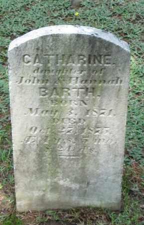 BARTH, CATHERINE - Monroe County, Pennsylvania   CATHERINE BARTH - Pennsylvania Gravestone Photos