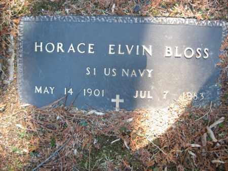 BLOSS, HORACE ELVIN - Monroe County, Pennsylvania   HORACE ELVIN BLOSS - Pennsylvania Gravestone Photos