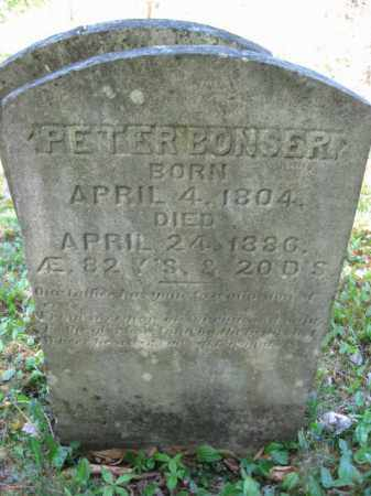 BONSER, PETER - Monroe County, Pennsylvania   PETER BONSER - Pennsylvania Gravestone Photos