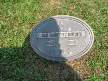 BREWER, ANNETTIE - Monroe County, Pennsylvania | ANNETTIE BREWER - Pennsylvania Gravestone Photos