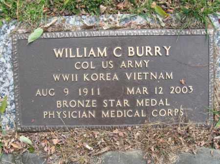 BURRY (WW II), WILLIAM C. - Monroe County, Pennsylvania | WILLIAM C. BURRY (WW II) - Pennsylvania Gravestone Photos