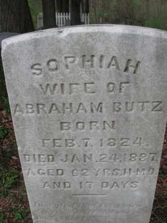 BUTZ, SOPHIAH - Monroe County, Pennsylvania   SOPHIAH BUTZ - Pennsylvania Gravestone Photos