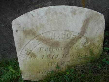 COFFMAN (CW), REUBEN - Monroe County, Pennsylvania | REUBEN COFFMAN (CW) - Pennsylvania Gravestone Photos