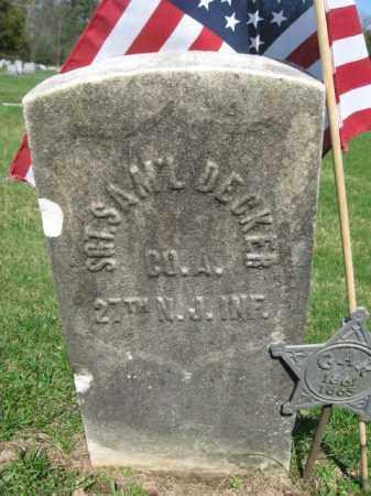 DECKER (CW), SAMUEL - Monroe County, Pennsylvania   SAMUEL DECKER (CW) - Pennsylvania Gravestone Photos
