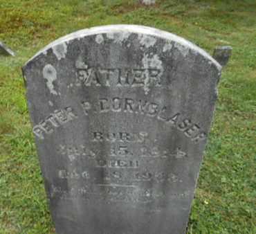 DORNBLASER, PETER - Monroe County, Pennsylvania   PETER DORNBLASER - Pennsylvania Gravestone Photos