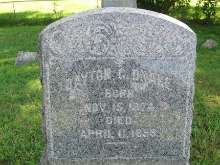 DRAKE, DAYTON C. - Monroe County, Pennsylvania | DAYTON C. DRAKE - Pennsylvania Gravestone Photos