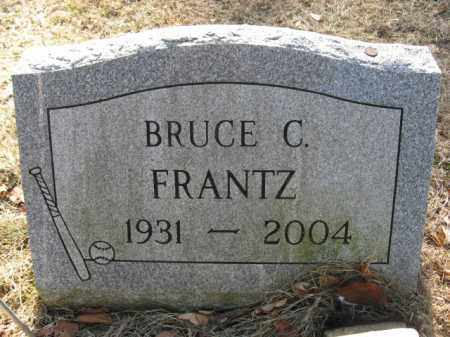 FRANTZ, BRUCE C. - Monroe County, Pennsylvania | BRUCE C. FRANTZ - Pennsylvania Gravestone Photos