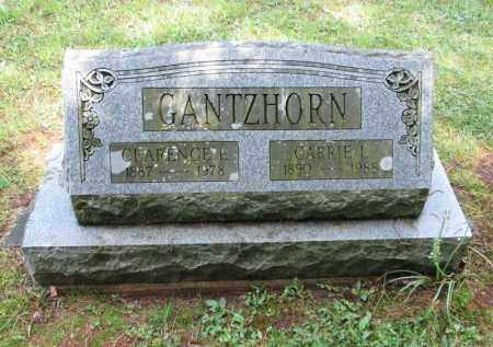 WARNER GANTZHORN, CARRIE L - Monroe County, Pennsylvania | CARRIE L WARNER GANTZHORN - Pennsylvania Gravestone Photos