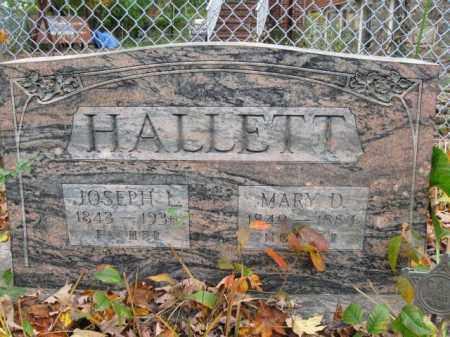 HALLETT, MARY D. - Monroe County, Pennsylvania | MARY D. HALLETT - Pennsylvania Gravestone Photos