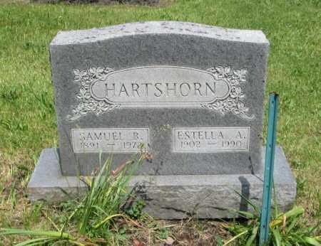 TUCKER HARTSHORN, ESTELLA A - Monroe County, Pennsylvania | ESTELLA A TUCKER HARTSHORN - Pennsylvania Gravestone Photos
