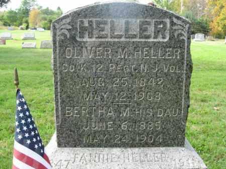 HELLER (CW), OLIVER M. - Monroe County, Pennsylvania | OLIVER M. HELLER (CW) - Pennsylvania Gravestone Photos