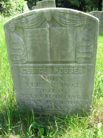 HOUSER, GEORGE - Monroe County, Pennsylvania   GEORGE HOUSER - Pennsylvania Gravestone Photos