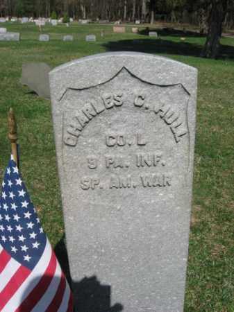 HULL (SAW), CHARLES C. - Monroe County, Pennsylvania | CHARLES C. HULL (SAW) - Pennsylvania Gravestone Photos