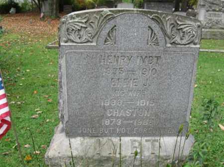 IMBT (CW), HENRY - Monroe County, Pennsylvania | HENRY IMBT (CW) - Pennsylvania Gravestone Photos
