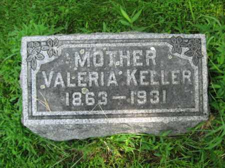 KELLER, VALERIA - Monroe County, Pennsylvania | VALERIA KELLER - Pennsylvania Gravestone Photos