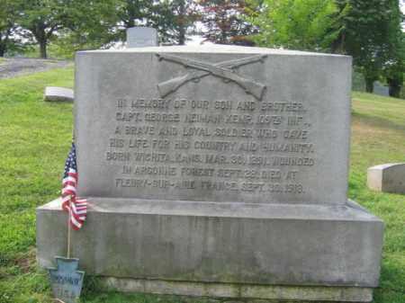 KEMP, CAPT.GEORGE NEIMAN - Monroe County, Pennsylvania | CAPT.GEORGE NEIMAN KEMP - Pennsylvania Gravestone Photos
