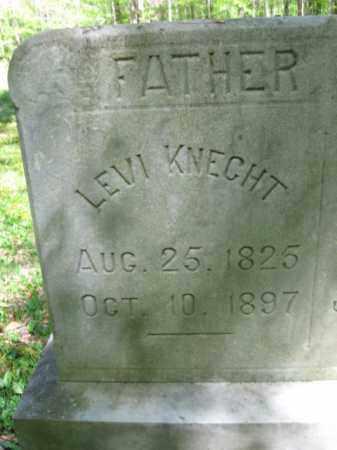 KNECHT, LEVI - Monroe County, Pennsylvania | LEVI KNECHT - Pennsylvania Gravestone Photos