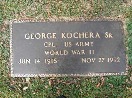 KOCHERA,SR. (WW II), GEORGE - Monroe County, Pennsylvania   GEORGE KOCHERA,SR. (WW II) - Pennsylvania Gravestone Photos