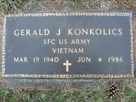 KONKOICS  (VIETNAM), GERALD J. - Monroe County, Pennsylvania | GERALD J. KONKOICS  (VIETNAM) - Pennsylvania Gravestone Photos