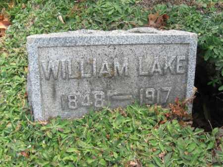LAKE, WILLIAM - Monroe County, Pennsylvania | WILLIAM LAKE - Pennsylvania Gravestone Photos