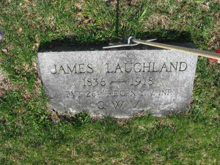 LAUGHLAND (LAUGHLIN) (CW), JAMES - Monroe County, Pennsylvania | JAMES LAUGHLAND (LAUGHLIN) (CW) - Pennsylvania Gravestone Photos