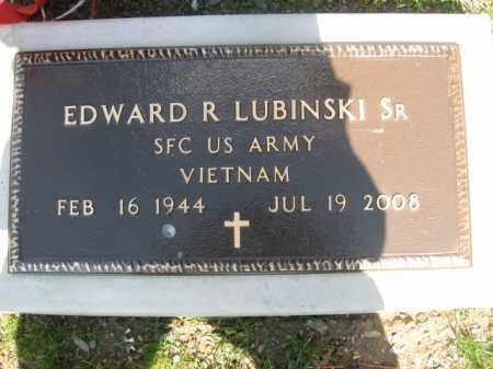 LUBINSKI,SR. (VIETNAM), EDWARD R. - Monroe County, Pennsylvania | EDWARD R. LUBINSKI,SR. (VIETNAM) - Pennsylvania Gravestone Photos