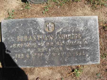 MILLER (RW), SEBASTIAN - Monroe County, Pennsylvania   SEBASTIAN MILLER (RW) - Pennsylvania Gravestone Photos