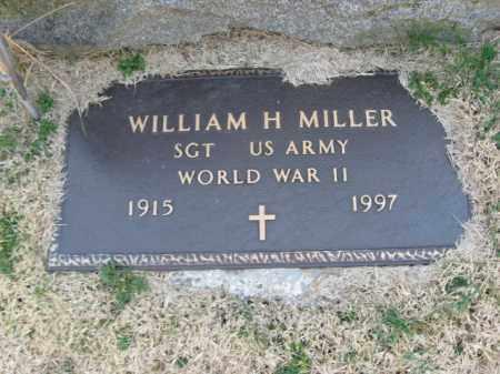 MILLER (WW II), WILLIAM H. - Monroe County, Pennsylvania | WILLIAM H. MILLER (WW II) - Pennsylvania Gravestone Photos