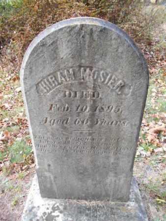 MOSIER, HIRAM - Monroe County, Pennsylvania | HIRAM MOSIER - Pennsylvania Gravestone Photos