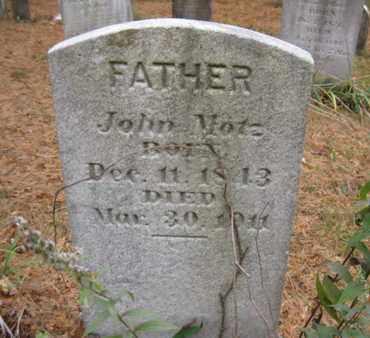 MOTZ, JOHN - Monroe County, Pennsylvania | JOHN MOTZ - Pennsylvania Gravestone Photos
