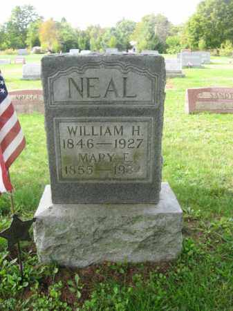 NEAL, WILLIAM H. - Monroe County, Pennsylvania | WILLIAM H. NEAL - Pennsylvania Gravestone Photos