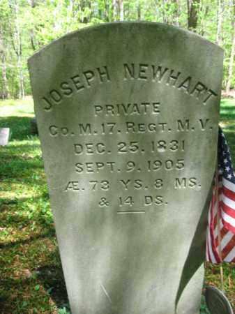 NEWHART (CW), JOSEPH - Monroe County, Pennsylvania | JOSEPH NEWHART (CW) - Pennsylvania Gravestone Photos