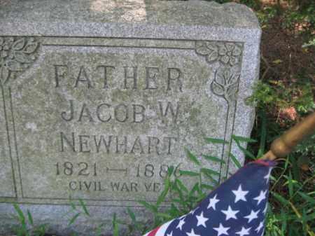 NEWHART (CW), JACOB W. - Monroe County, Pennsylvania   JACOB W. NEWHART (CW) - Pennsylvania Gravestone Photos