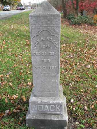 NOACK (CW), JOHN E. - Monroe County, Pennsylvania   JOHN E. NOACK (CW) - Pennsylvania Gravestone Photos