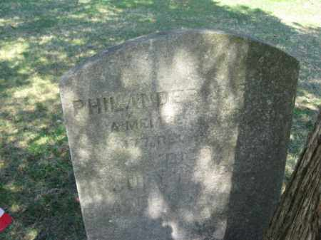 PELL (CW), PHILANDER J. - Monroe County, Pennsylvania | PHILANDER J. PELL (CW) - Pennsylvania Gravestone Photos