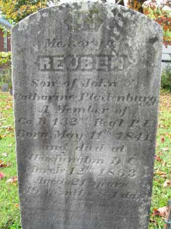 PLATTENBURG (CW), REUBEN - Monroe County, Pennsylvania | REUBEN PLATTENBURG (CW) - Pennsylvania Gravestone Photos
