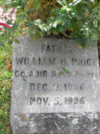PRICE (WC), WILLIAM K. - Monroe County, Pennsylvania | WILLIAM K. PRICE (WC) - Pennsylvania Gravestone Photos