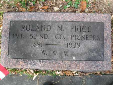 PRICE (WW I), ROLAND N. - Monroe County, Pennsylvania | ROLAND N. PRICE (WW I) - Pennsylvania Gravestone Photos